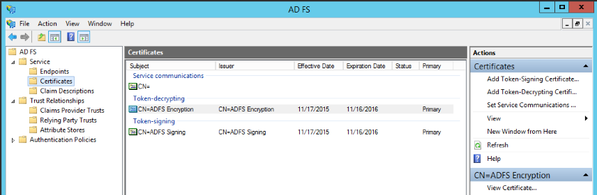 Configuring SharePoint 2010 to use ADFS 3 0 as a Trusted